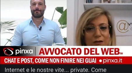 Salvo Falcone intervista l'Avvocato del Web® su rischi del web e reputazione.