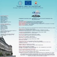 EVENTO INSERT LAW TO CONTINUE – NAPOLI, 13 SETTEMBRE 2019, FEDERICO II